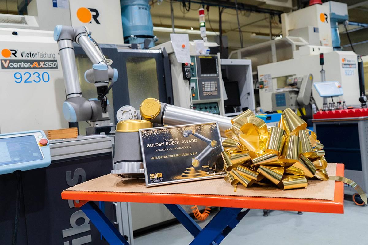 Gouden Robot van Universal Robots