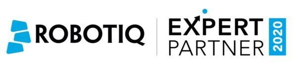 Logo's Robotiq en Expert Partner 2020