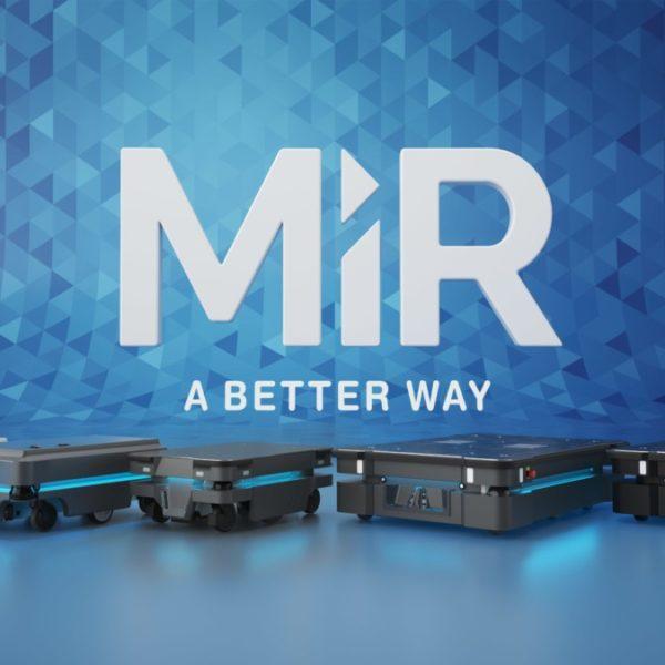 Vier verschillende MiR producten voor Automatisering