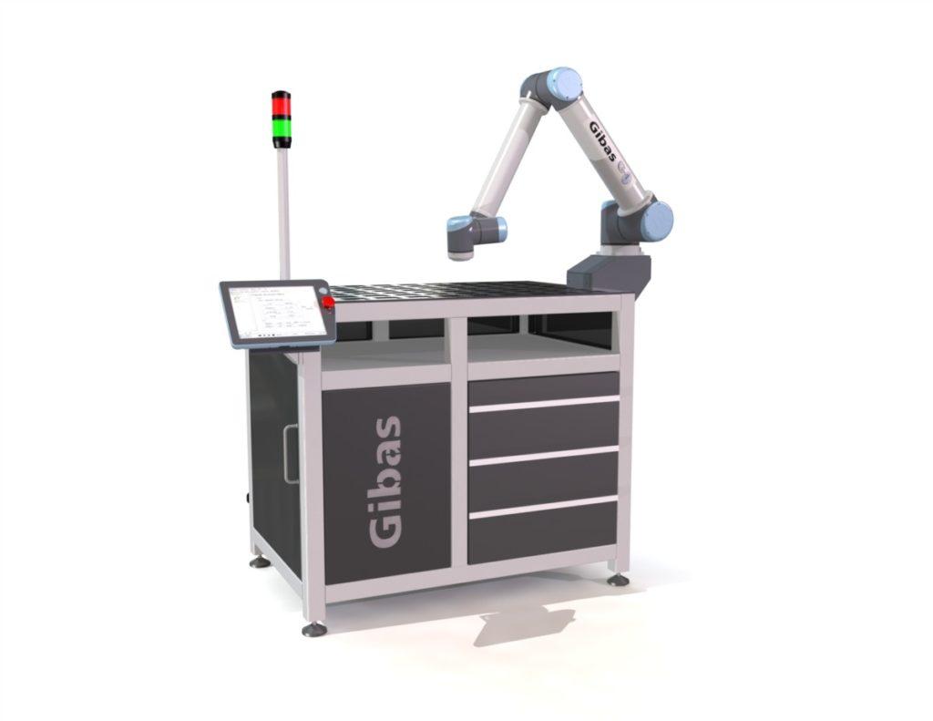 G-loader van Gibas met een cobot van Universal Robots om te automatiseren