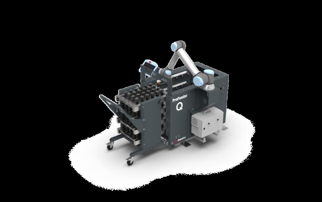 EasyRobotics Profeeder met een cobot van Universal Robots om te automatiseren