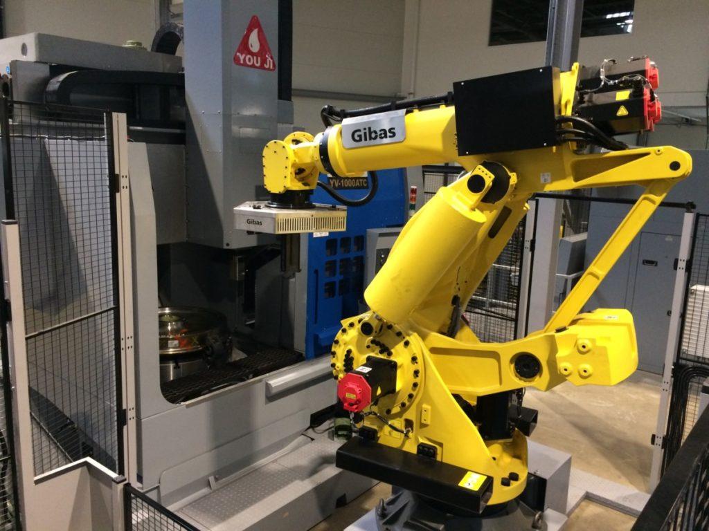 Machinebelading Nedtrain. Onderdeel van volledige automatisering