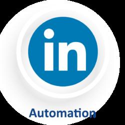 LinkedIn logo automation