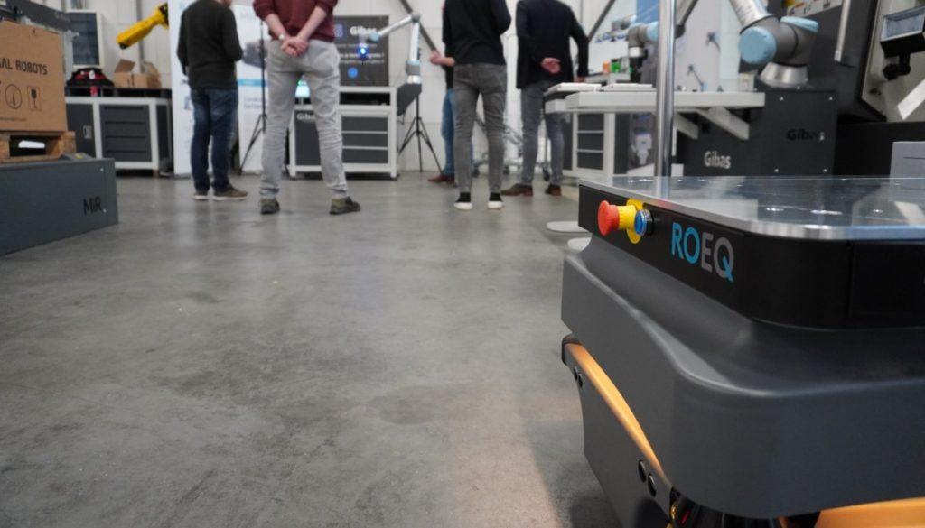 Roeq in beeld bij de New Technologies