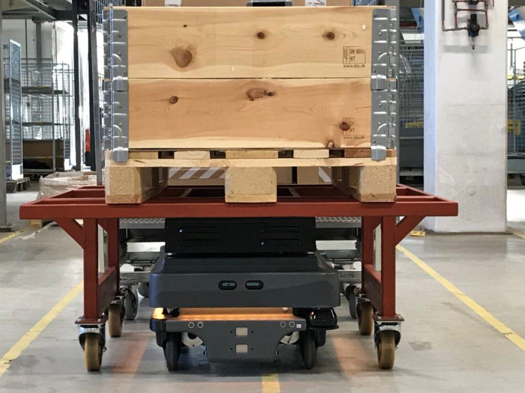 MiR als AGV voor het verplaatsen en automatiseren van producten en bedrijfsprocessen