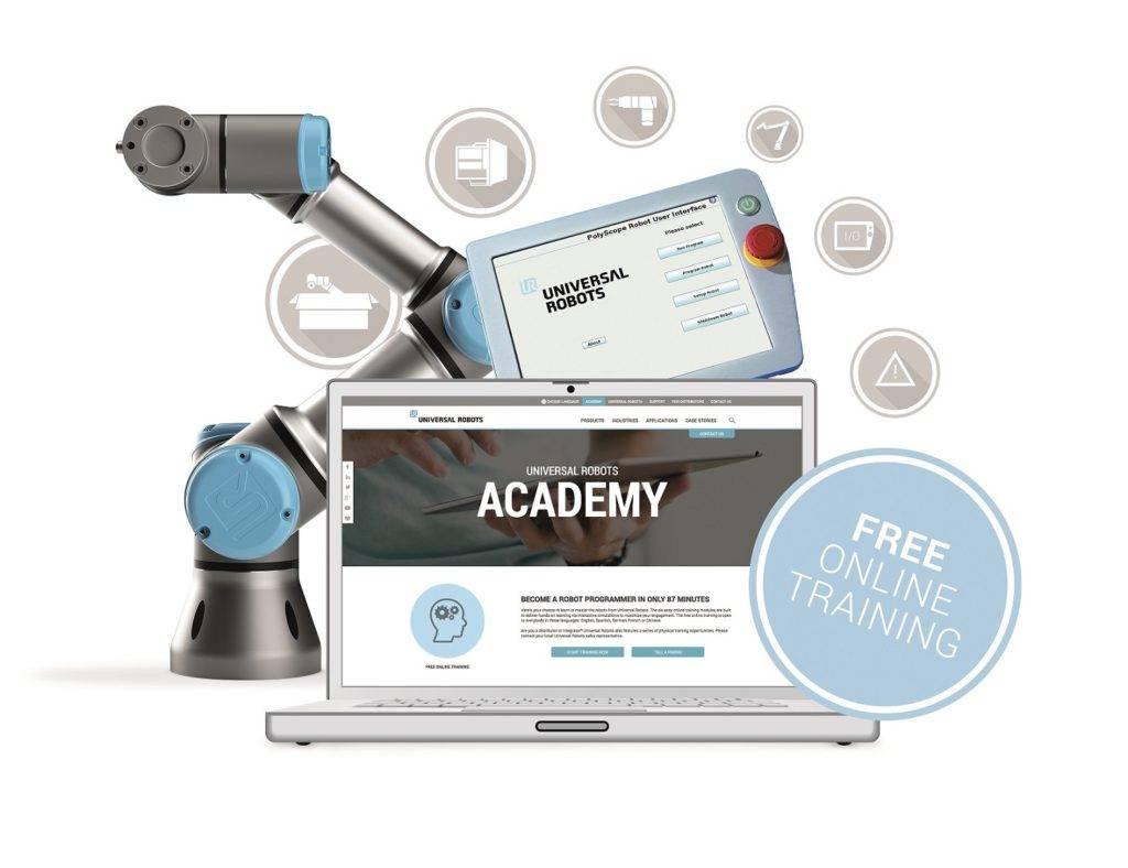 Online academy Universal Robots